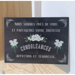 Cartes Condoléances